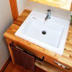 きれいを保つ、洗面台リフォーム